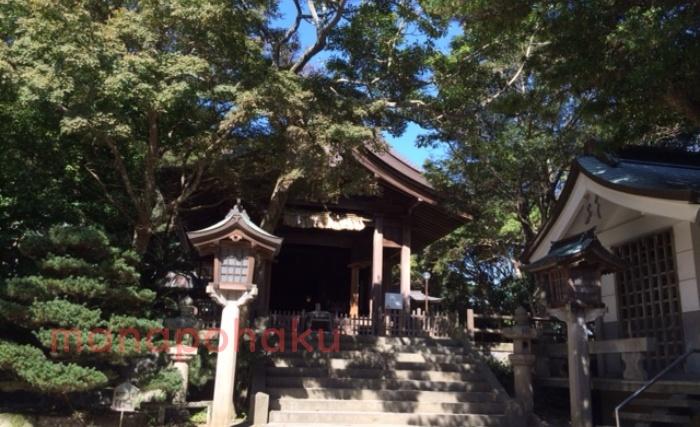 志賀海神社パワースポット